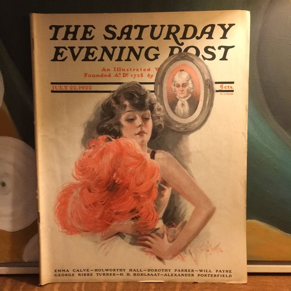 Vintage Other - July 22, 1922 The Saturday Evening Post